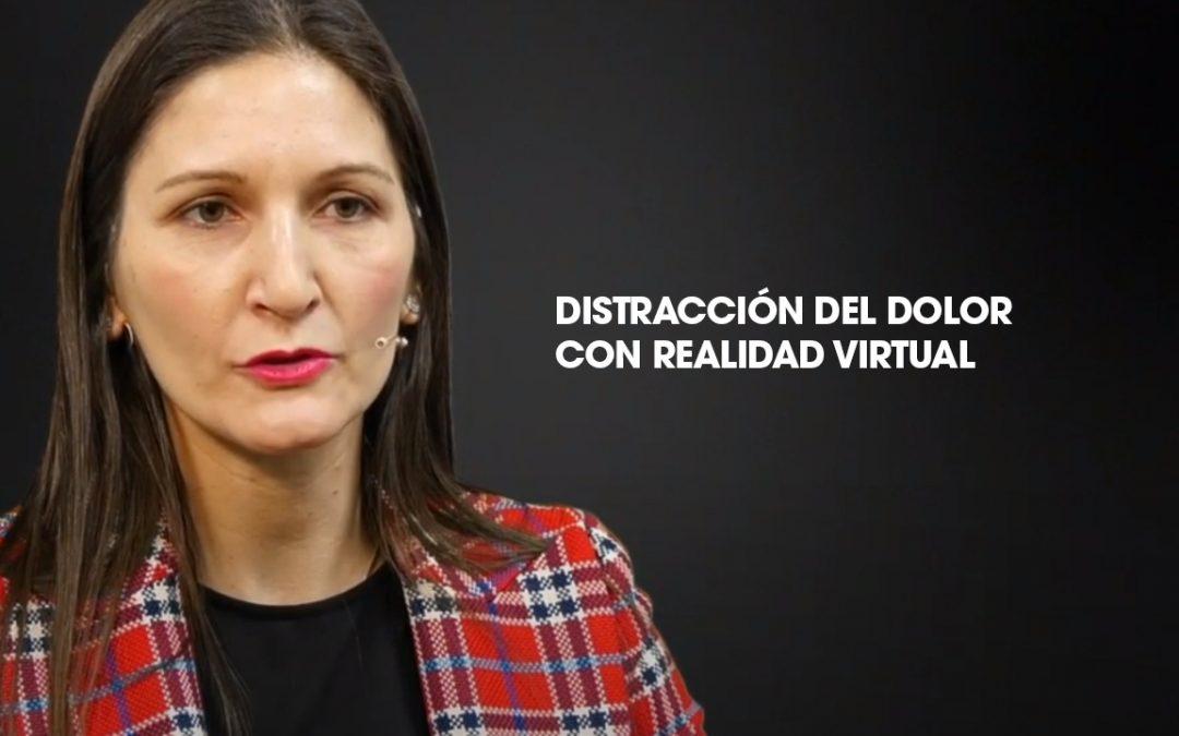 Realidad virtual como distracción del dolor