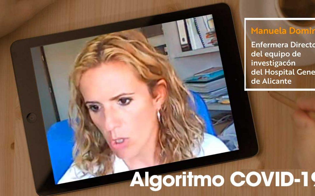 El algoritmo desarrollado por enfermeras que puede ayudar en la pandemia Covid-19