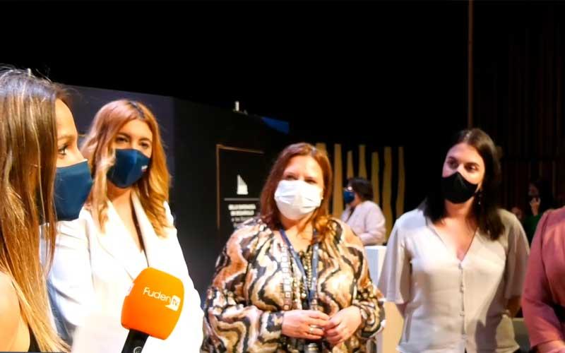 Entrevistas en la gala de entrega del Sello ED en Vitoria
