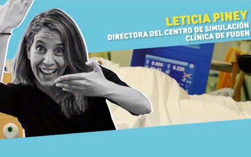 Conociendo a Leticia Piney, directora del Centro de Simulación Clínica de Fuden