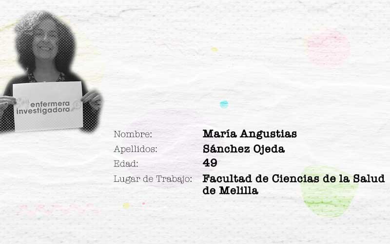 María Angustias Sánchez: enfermería y población inmigrante